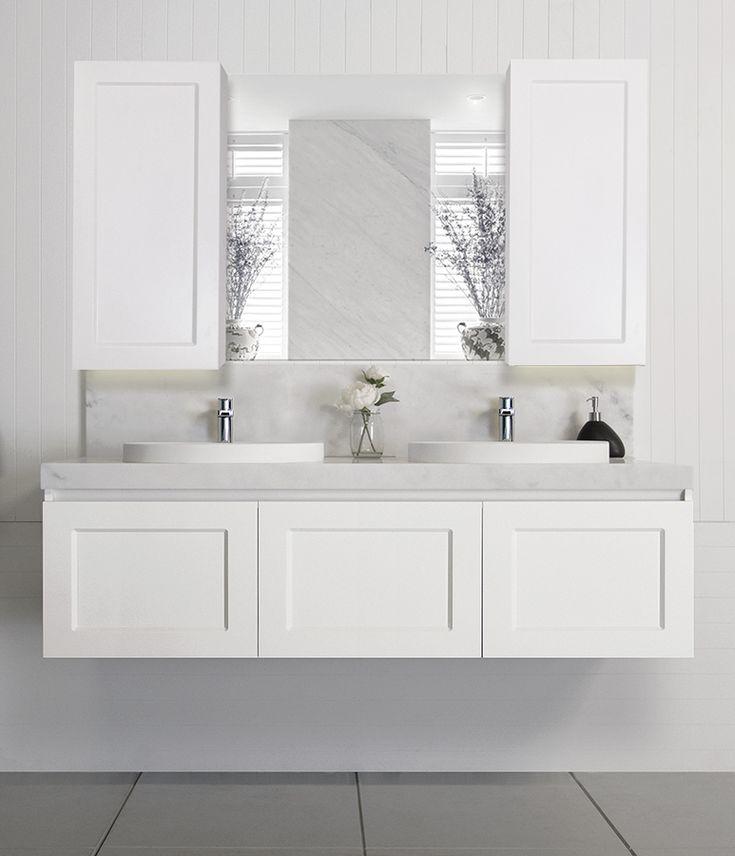 London vanity  Hamptons style shaker doors  Architectural Designer Products  Full Depth