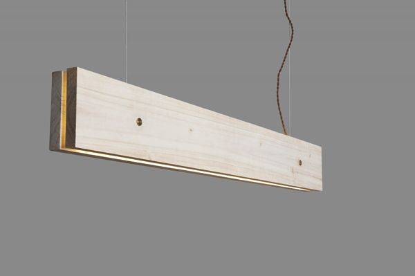 Doable DIY wook plank llighting