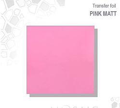 Mosaic Transfer Foil Matt Baby Pink MATT YELLOW TRANSFER FOIL £2.50 www.susansnailstore.co.uk  CHECK OUT OUR MIX&MATCH OFFER ON TRANSFER FOILS!