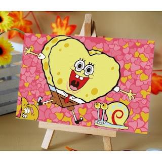 Melukis Sendiri SpongeLove SquarePants - Melukis Sendiri