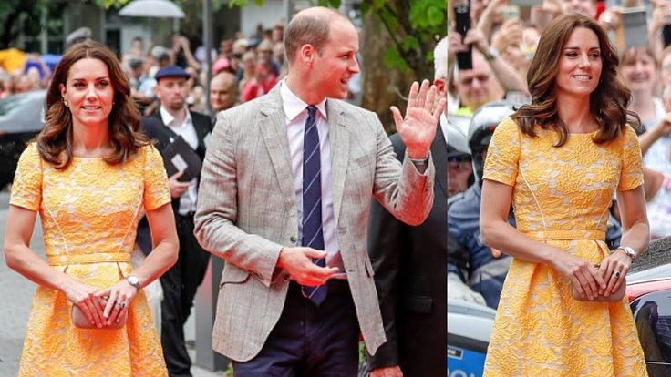 Kate excels at diplomatic dressing AGAIN as she channels the gold of the...