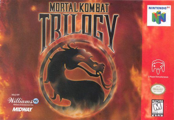 Mortal Kombat Trilogy N64 by Midway