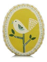 George Home Oval Birdie Cushion