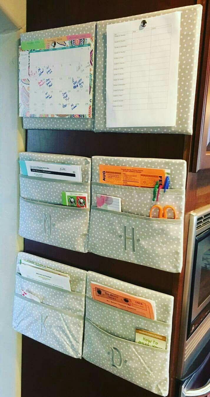 Wall organization #walltogetherpinboard #walltogetherpocketboard