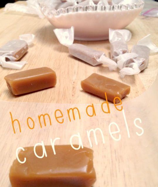 Caramelos hechos en casa