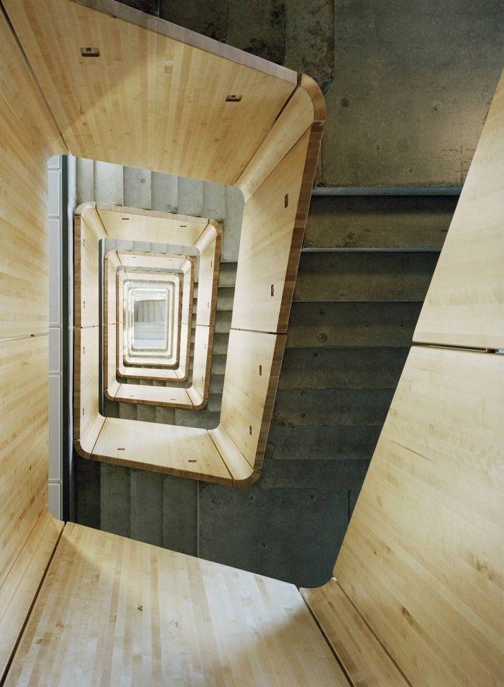 skelleftea kraft office building - skellefteå - general - stair