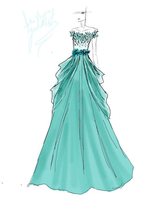 Top 25+ best Dress design sketches ideas on Pinterest | Fashion ...