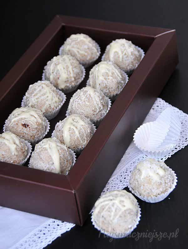 Trufle kokosowe – Śnieżne kulki