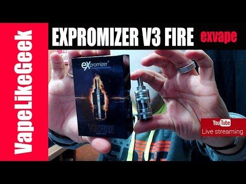 EXPROMIZER V3 FIRE Live παρουσίαση - Κληρώσεις - Απορίες EXPROMIZER V3 FIRE Live παρουσίαση περισσοτερες πληροφοριες εδω http://ift.tt/2A8qLfl ΚΑΛΥΤΕΡΗ ΜΕΤΑΒΑΣΗ ΣΤΗ ΠΑΡΟΥΣΙΑΣΗ Τρεχει Διαγωνισμος https://youtu.be/D5jLBgtgPBs?t=5m42s Αρχη Προλογος https://youtu.be/D5jLBgtgPBs?t=2m28s Παρουσιαση συσκευασιας https://youtu.be/D5jLBgtgPBs?t=18m4s Παρουσιαση EXPROMIZER V3 FIRE https://youtu.be/D5jLBgtgPBs?t=23m54s Στησιμο ατμοποιητη https://youtu.be/D5jLBgtgPBs?t=34m53s Πρωτες σκεψεις…