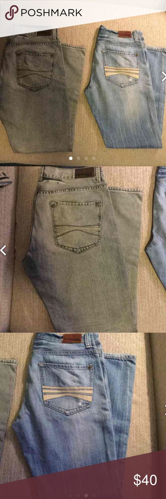 Express Blake jeans bundle Express Jeans, Blake Loose Fit Boot Cut 32x32 Bundle, these jeans are in great condition Express Jeans Bootcut