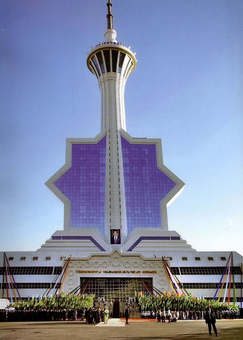 Polimeks, Television Tower, Ashgabat, Turkmenistan