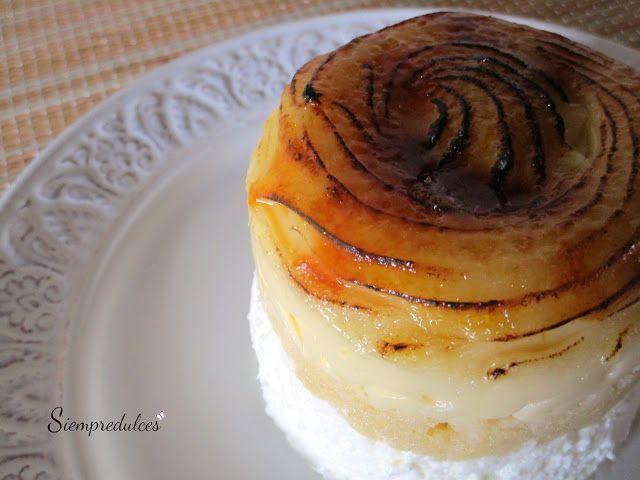 Goxua. Postre típico de Vitoria, a base de nata, bizcocho, crema pastelera y caramelo. Una muestra de que en la sencillez está la exquisitez.