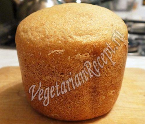 Бездрожжевой хлеб на закваске в хлебопечке