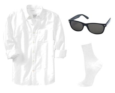 DIY Risky Business Costume. If I absolutely can't get a costume!