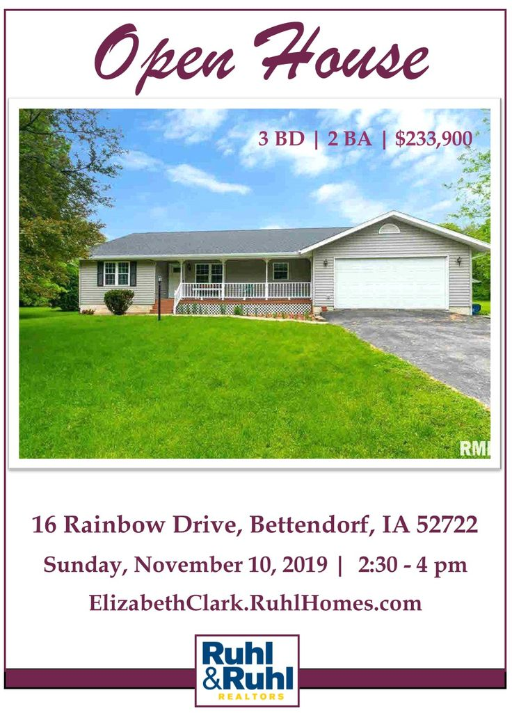 Please join us for our Open House this Sunday, 11/10 from