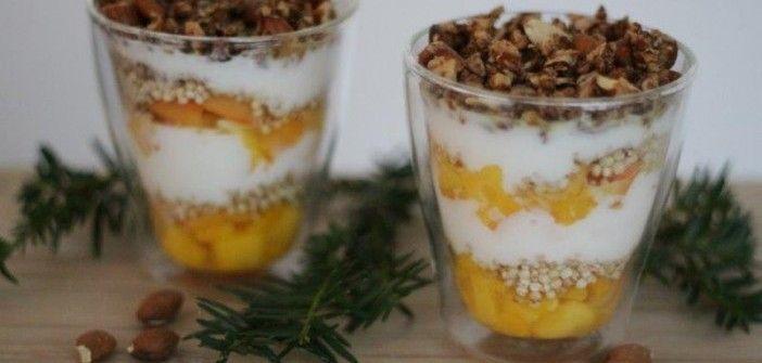 Recept voor een gezond kerstdessert: tropische trifle - Christmaholic.nl