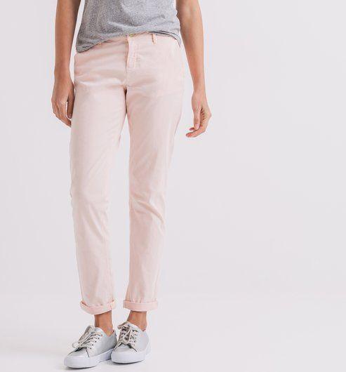 Pantalon en toile Femme orange - Promod