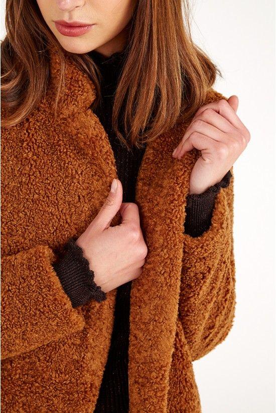 Influence Teddy Bear Fur Coat