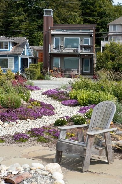 Beautiful Contemporary Landscape By Lankford Associates Landscape Architects · Beach  HousesBeach ...