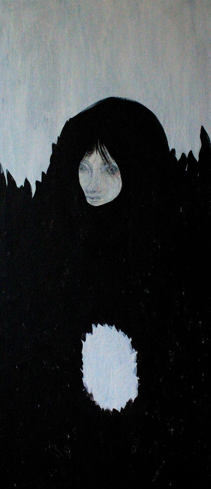 Gushtyuk Julia acrylic on canvas Void