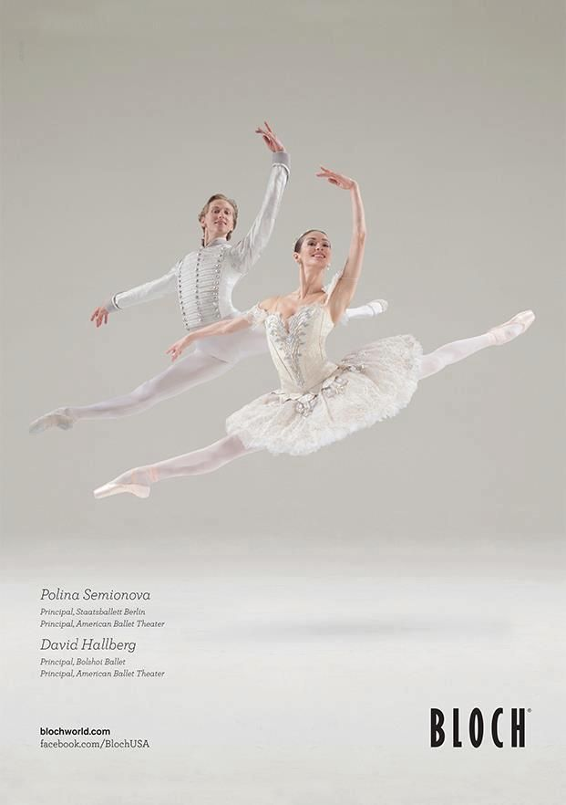 Polina Semionova and David Hallberg - Bloch ad