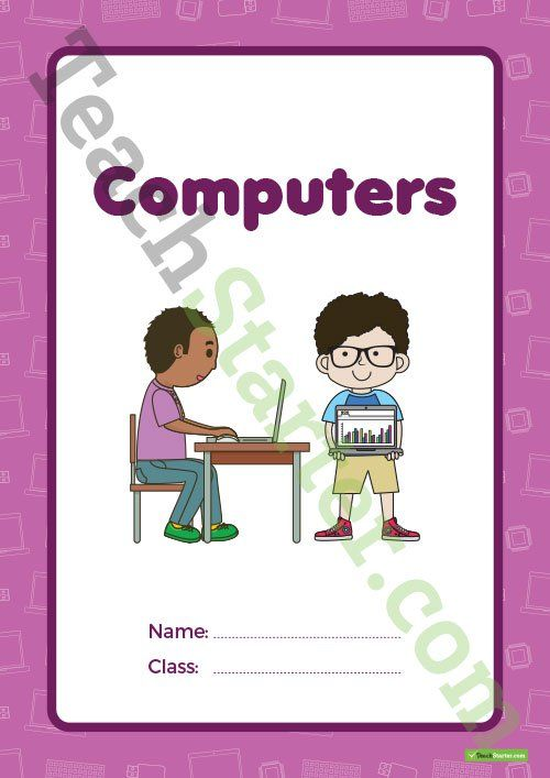 Computers Book Cover – Version 1 Teaching Resource