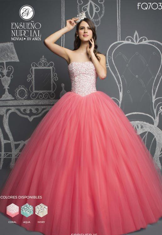 1bc5b6d03 FQ703 - Ensueño Nupcial - Vestidos de Novia en Monterrey y Vestidos de XV  Años en