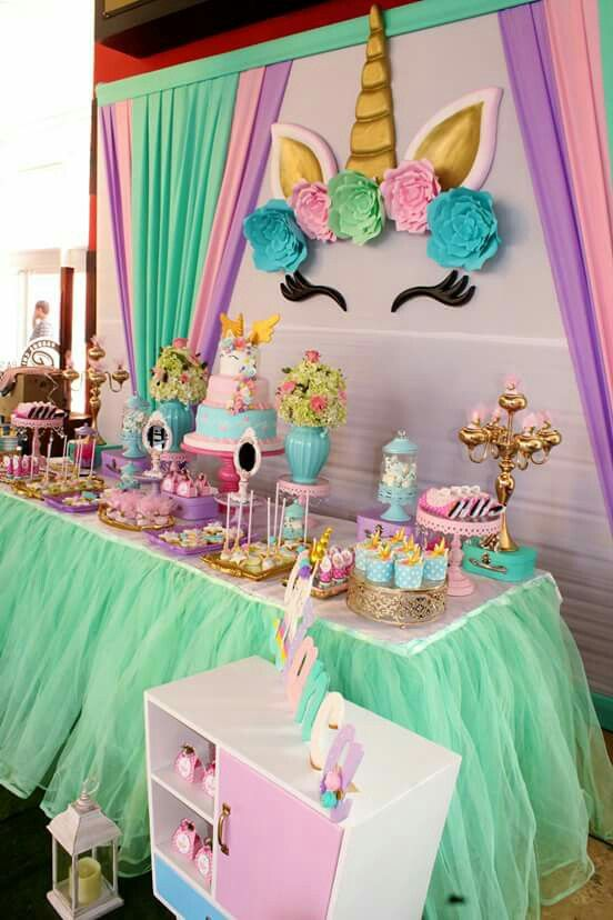 Madeleines 5th Birthday Unicorn Parties 11th Party Themes Ideas