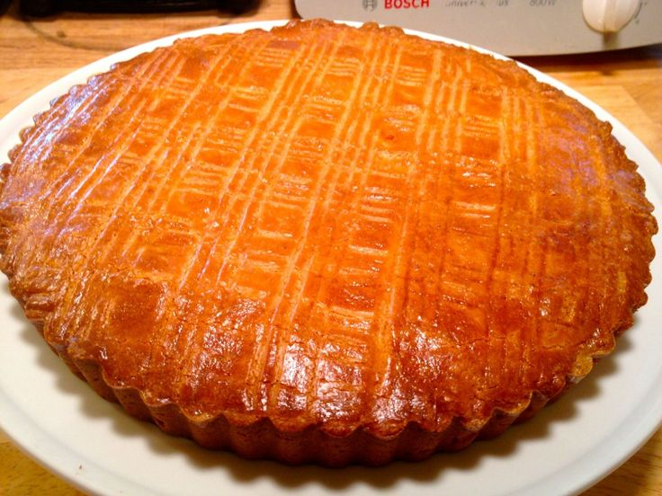 Authentic Gateau Breton ~ Recipe for delicious Butter cake/pastry from the Brittany region of France