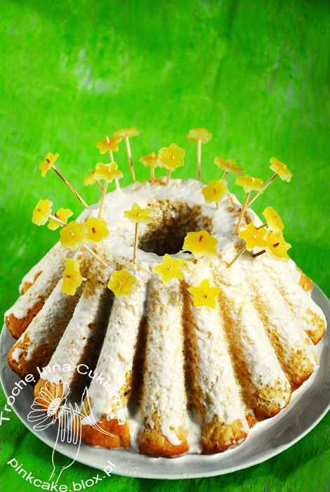 Babka kokosowo-cytrynowa Lemon and coconut cake