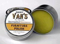 Daddy Vans Unscented Beeswax Furniture Polish