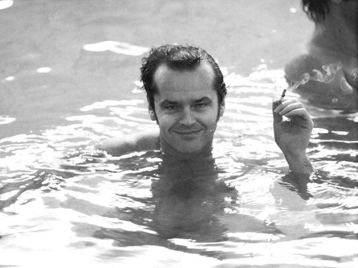 """My motto is: more good times."" — Jack Nicholson"