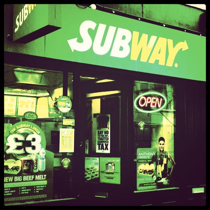 Subway on Leather Lane