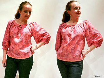 Draft your own old-school peasant blouse the way it used to be done, without wasting any fabric!