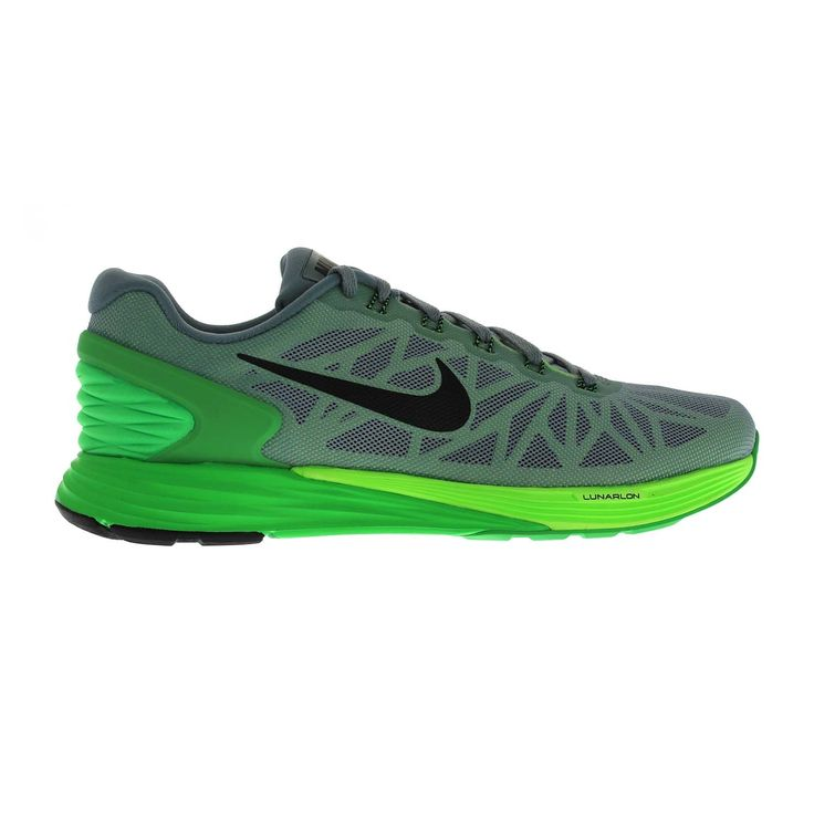 designer fashion c3f7b fd418 ... The Nike LunarGlide 6 Mens Running Shoe balances plush cushioning and  stability with a new softer .