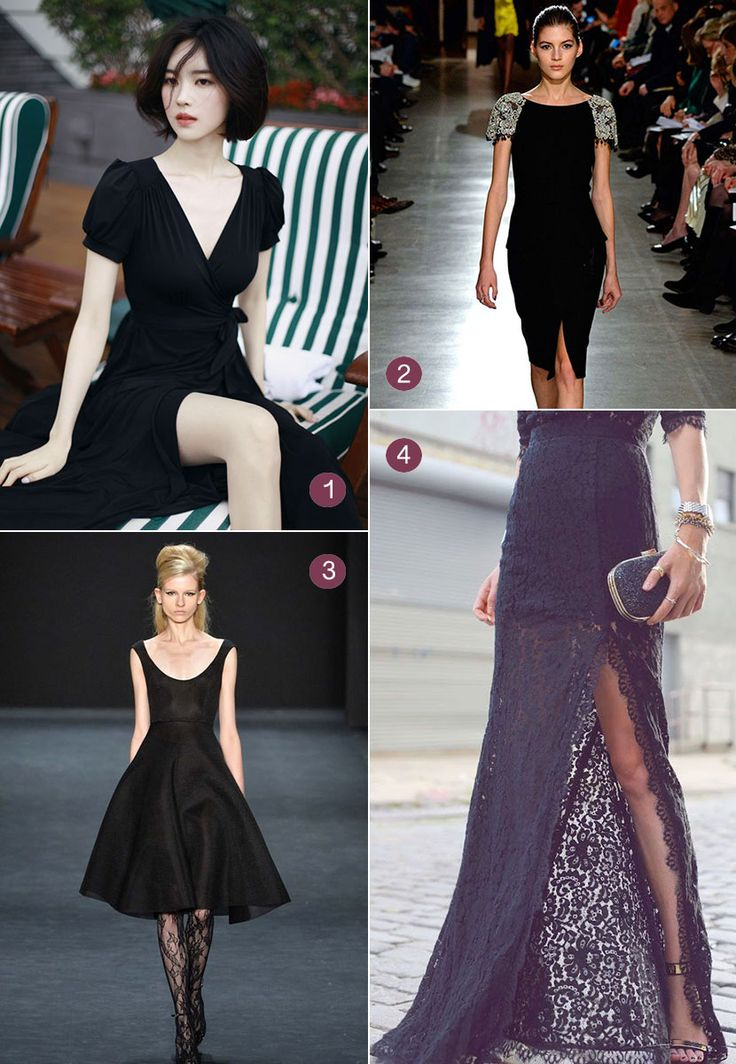 Bridesmaids wearing black will have more chances to wear their Wedding Attire again and again. Recycling is Eco Friendly! Here's some suggestions…