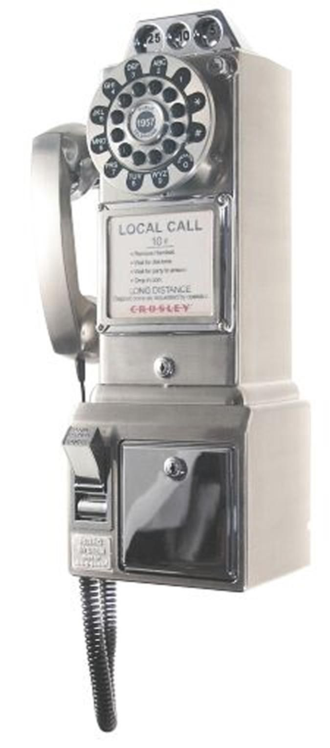 before cell phones: Payphones, 10Cents