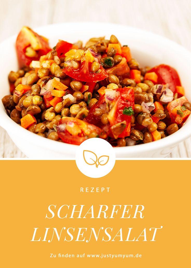 Scharfer Linsen-Salat – #beilagen