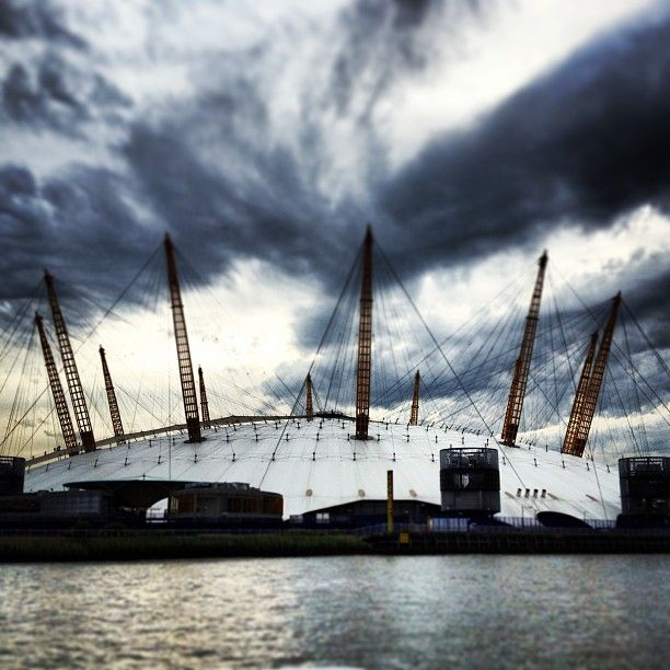 The O2 Arena in Greenwich, Greater London