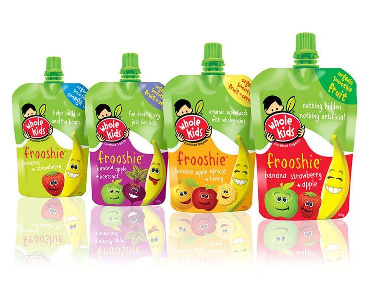 Whole Kids Juice Designed by Watts Design