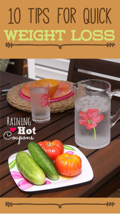 10 Tips for Quick Weight Loss and 3 detox drinks:fat burning, weight loss, and stress