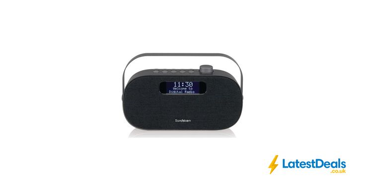 SANDSTROM Portable DAB+/FM Bluetooth Radio + Free 3 Month