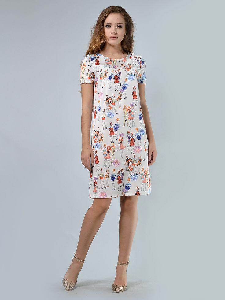 Платье в цветочный принт - LILA KASS - 3385335