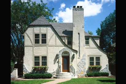 English tudor revitalized this english tudor had lost - Tudor revival exterior paint colors ...