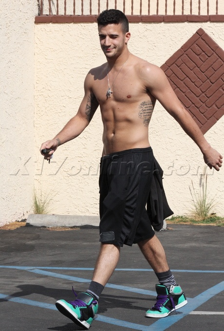 Look at him...wowzers!! Mark Ballas