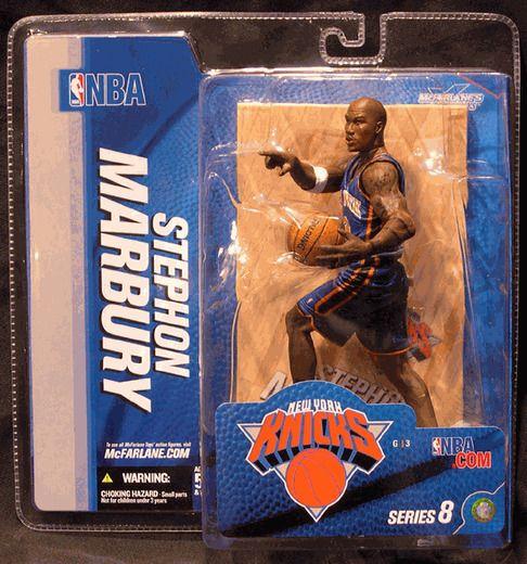 MCFARLANE NBA SERIES 8 STEPHON MARBURY New York Knicks #mcfarlane #MCFARLANENBASERIES8STEPHONMARBURY