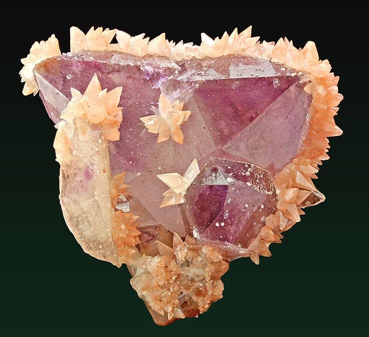 Amethyst, Quartz & Calcite