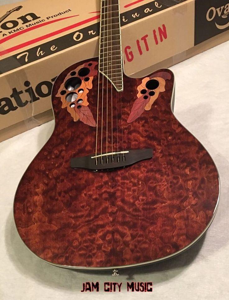 Ovation Celebrity Elite Plus CE48P-TGE Super Shallow Acoustic-Electric Guitar #Ovation
