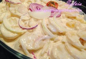 Majonézes burgonyasaláta Sylvia Gasztro Angyal konyhájából | NOSALTY – receptek képekkel