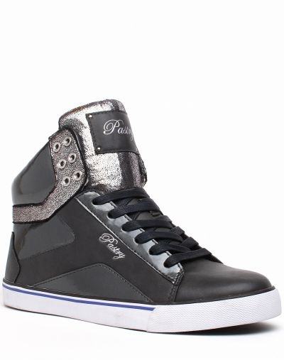 Pastry Shoes NYC Sweet Crime Mid Top in Gray